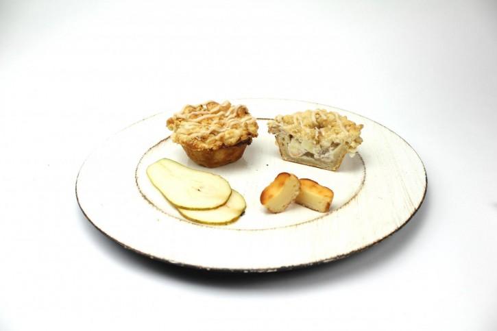 Birnen-Zimt Cheesecake