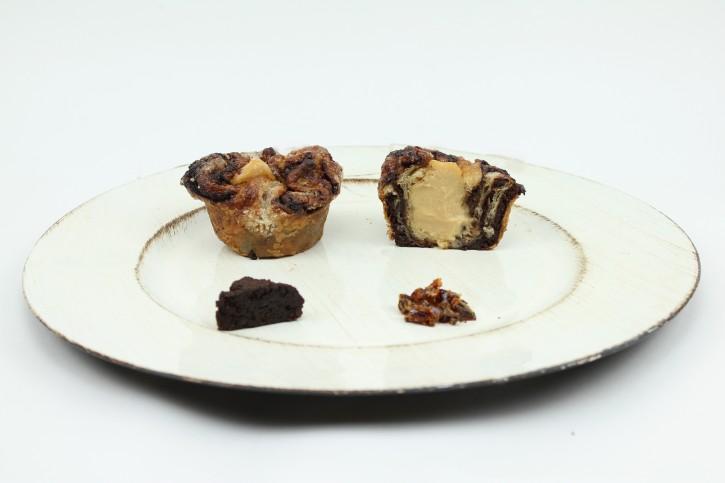 Karamell-Brownie Spluffin