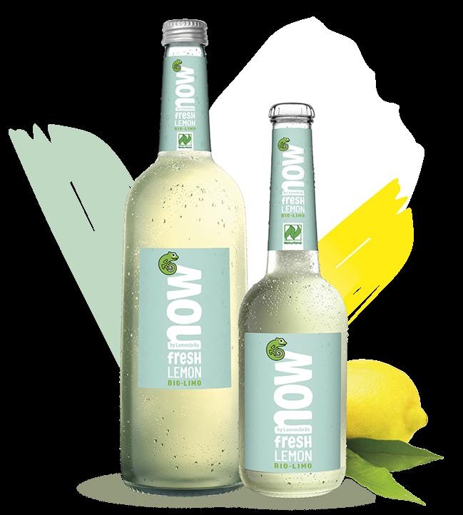 Now Fresh Lemon 0,33 l vegan