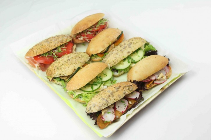 Dinkel Panini Sandwiches