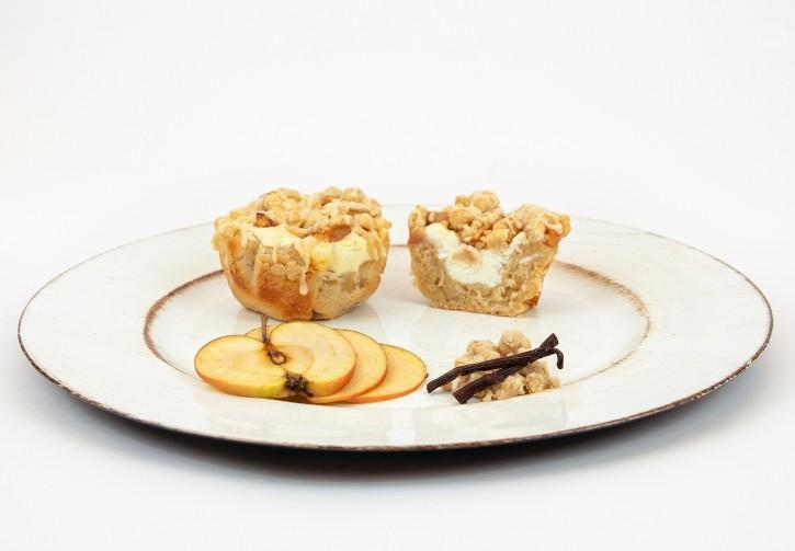 Apfel-Zimt Cheesecake Spluffin
