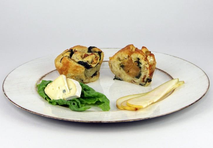 Blauschimmel-Spinat-Birne Spluffin