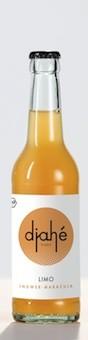 Djahé Limo - Ingwer/Maracuja 0,33 l vegan/bio